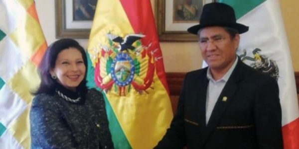 El gobierno de Jeanine Áñez, declaró a María Teresa Mercado como persona 'non grata' y ordenó su expulsión