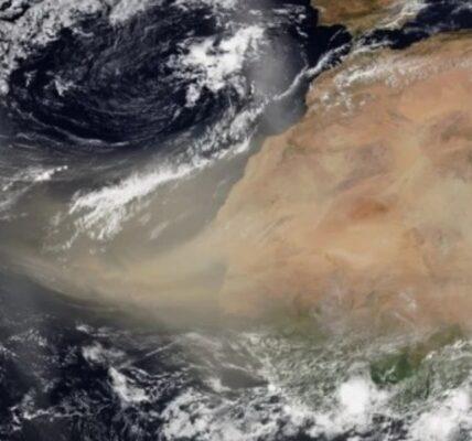 ¿Qué es la nube de polvo del Sahara?