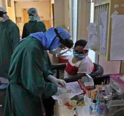 Las cifras totales ya son 30 mil 196 contagios y 1 mil 839 fallecimientos por la pandemia